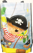 Pirate Jumbo Extra Large Woven Bag Boys Kids Children Laundry Reusable Shopping Tote Storage Decoration Strong