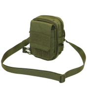 LefRight Olive Drab Multipurpose Tactical Molle Utility Pouch Waist Bag Holster Combo Detachable Quick Release Strap