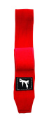 Bruce Lee Signature Boxing Wraps 450 cm - Red Pair - Red, One Size