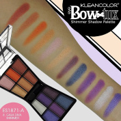 12 ASSORTED colour SHIMMER EYESHADOW PALETTE