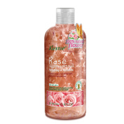 Biofinest-Kustie Rose Flower Petals Shower and Bath Gel - Handpicked Natural Flower Petals - Rose Essential Oil - Refreshing and Romantic - Paraben Free - For All Skin