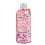 Biofinest-Kustie Cherry Blossom Flower Petals Shower and Bath Gel - Handpicked Natural Flower Petals - Essential Oil - Lightening and Brightening - Paraben Free - For All Skin