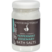 Soothing Touch Bath Salts - Peppermint Rosemary - 950ml