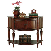 Venetian Worldwide Sausalito Accent Table, Brown