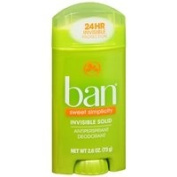 Ban Invisible Solid, Antiperspirant & Deodorant, Sweet Simplicity, 80ml - 2pc