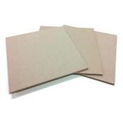 Square MDF Wood Craft Plaque Sign 25cm x 25cm , 3-pack