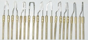 Set of 10 woodburning tips for Burnmaster, Detail Master, Colwood & more