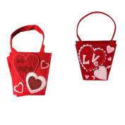 DII Felt Hearts Gift Bags