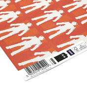 Official BBC Doctor Who Gift Wrapping Paper (5 x Sheets) - Cyberman / Cybermen Print