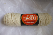 Off White Coats and Clark Red Heart 4 Ply 100% Virgin Orlon Acrylic Knitting Yarn