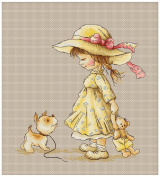 Cross Stitch Kit Come with me