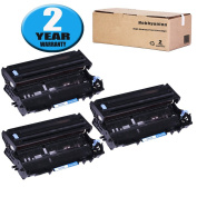3 Pack DR400 Drum Unit by Hobbyunion Replacement for Brother HL-1230 HL-1240 HL-1250 HL-1440 DCP-1200 DCP-1400 MFC-8300 MFC-8500 MFC-8600 MFC-9600 MFC-9700 IntelliFax-4100, Black