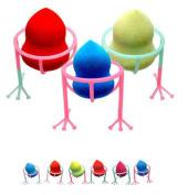 Makeup Sponges Stand,Elevin(TM)Makeup Beauty Stencil Egg Powder Puff Sponge Display Stand Drying Holder Rack