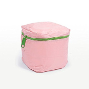 Pufmania - Pink Cube Beanbag With Removable Cover