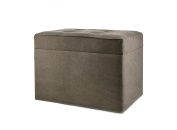 moycor Roma Bench with Chest, 60 x 42.5 x 42.5 cm, Brown