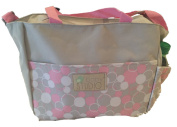 In-Obeytions Baby Nappy Bag-Weekender Tote- . Design with Adjustable Straps