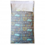 Tiny Tote Along Nappy Bag - Baby Boy Text Print