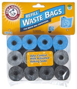 Arm & Hammer 71040 Disposable Waste Bag Refills, Assorted, 180 2 Pack by Arm & Hammer