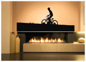 Wall Vinyl Sticker Decals Mural Room Design Pattern Art Bike BMX Riding Bicycle bo2283