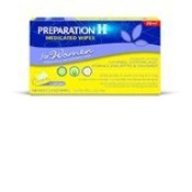 Preparation H Medicated Wipes for Women, 48 Ea