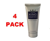 Antonio Banderas King Of Seduction After Shave balm 100 mll. Pack of 4