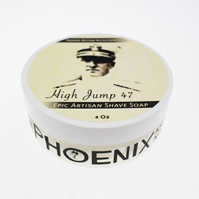 High Jump 47 Luxury Shaving Cream Soap - Phoenix Artisan Accoutrements - 120ml