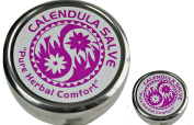 Calendula Salve in Extra Large 120ml and .150ml Travel Tin from The Super Salve Company (Bundle of 2) -