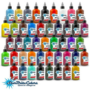 StarBrite Colours Tattoo Ink - 46 Colour Set - 30ml