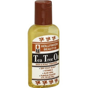 Hollywood Tea Tree Oil, Skin & Scalp Treatment, 2z (Pack of 3) by Hollywood Beauty