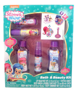 Shimmer Shine Childrens Bath and Beauty Kit