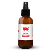 Moroccan Organic Rose Water Spray, All Natural Facial Toner and Cleanser - 100% Pure Rosewater Mist for Healthy Skin - Vitamins A & C Soothe Dry, Acne Prone, Sensitive & Oily Skin w120ml Glass Bottle