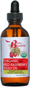 Red Raspberry Seed Oil - USDA Certified Organic - 4 fl oz (120 ml) - Cold-Pressed in the USA