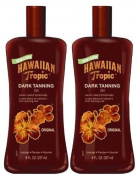 Hawaiian Tropic Dark Tanning Oil-240ml, 2 pack
