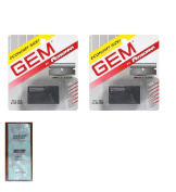 Personna Gem Super Stainless Steel Refill Blades, 10 ct. (Pack of 2) with FREE Loving Colour trial size conditioner