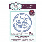 Craft Die CED22005 Sue Wilson Kinetics - Candy Machine - One In A Million