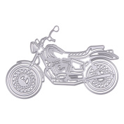 Awakingdemi Motorcycle Metal Cutting Dies Stencils DIY Scrapbooking Album Decorative Paper Card Craft Embossing Cutting Dies