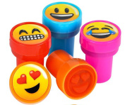 1 ASSORTED colour EMOJI STAMP
