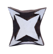 Star Shape Geometric Wooden Printing Handcarved Wood Texile Clay Block print Stamp