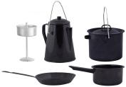 Esschert Design FF215 Outdoor Cooking Set, Medium, Black