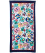 Vera Bradley Beach Towel Cuban Stamps Bath Towels