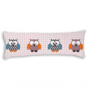 Veronicaca Cute Owls Custom Cotton Body Pillow Covers Pillow Cases 50cm x 140cm