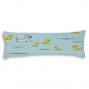 Veronicaca Duck Mother And Babys Custom Cotton Body Pillow Covers Pillow Cases 50cm x 140cm