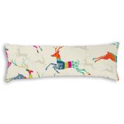 Veronicaca Running Fast Deer Custom Cotton Body Pillow Covers Pillow Cases 50cm x 140cm