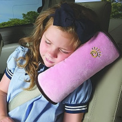 1pc Baby Kids Children Car Safety Seatbelt Car Belt Pillow,Soft Headrest Neck and Head Support Pillow Shoulder Pad for Travel