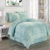 Adele Microfiber Comforter Bed In A Bag Set King