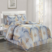 Chloe Microfiber Comforter Bed In A Bag Set King