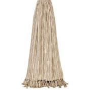 Riva Home Virgo Striped Woven Throw (140cm x 200cm )
