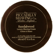Piccadilly Sandalwood Shaving Cream Bowl 180g