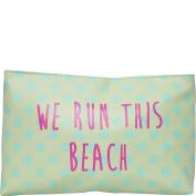 T-shirt & Jeans We Run This Beach Cosmetic