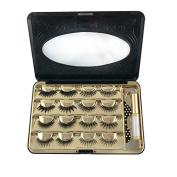 Luxuelash False Eyelash Makeup Cosmetic Storage Organiser Box Travel Lash Case Container